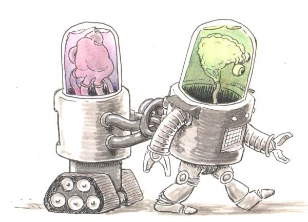 pair of robots