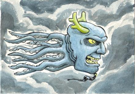 sky monster